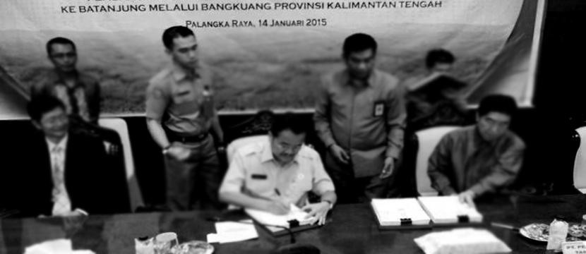 China Consortium & Kalimantan Railway