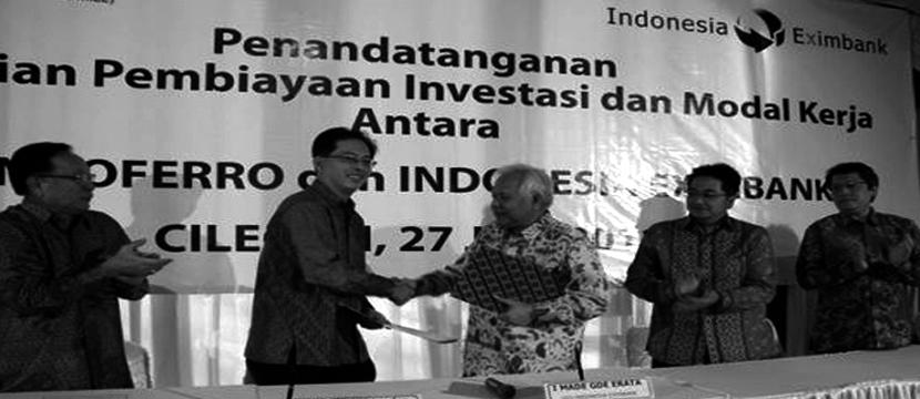 Indonesia Eximbank vs Peers (Malaysia & Thailand)
