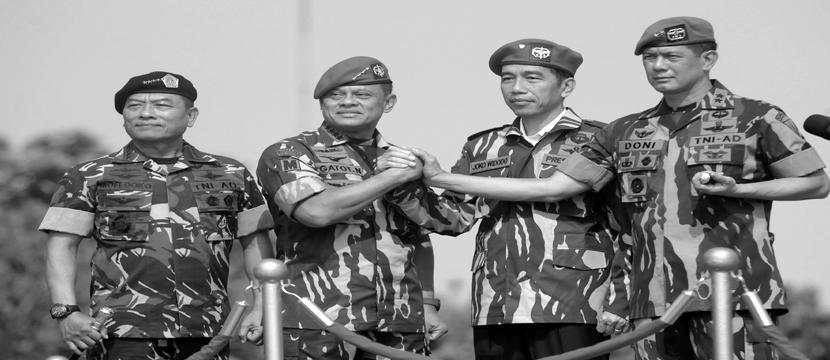 Jokowi's Military Reorganization Plan