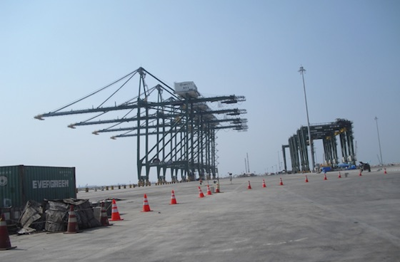 Field Trip (11): Tanjung Priok Supporting Infrastructures