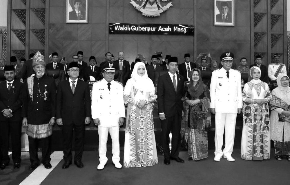 Jokowi, PDIP, and Nanggroe Aceh Darussalam