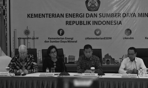 An Interview with A Special Staff of the ESDM Minister on Freeport Indonesia