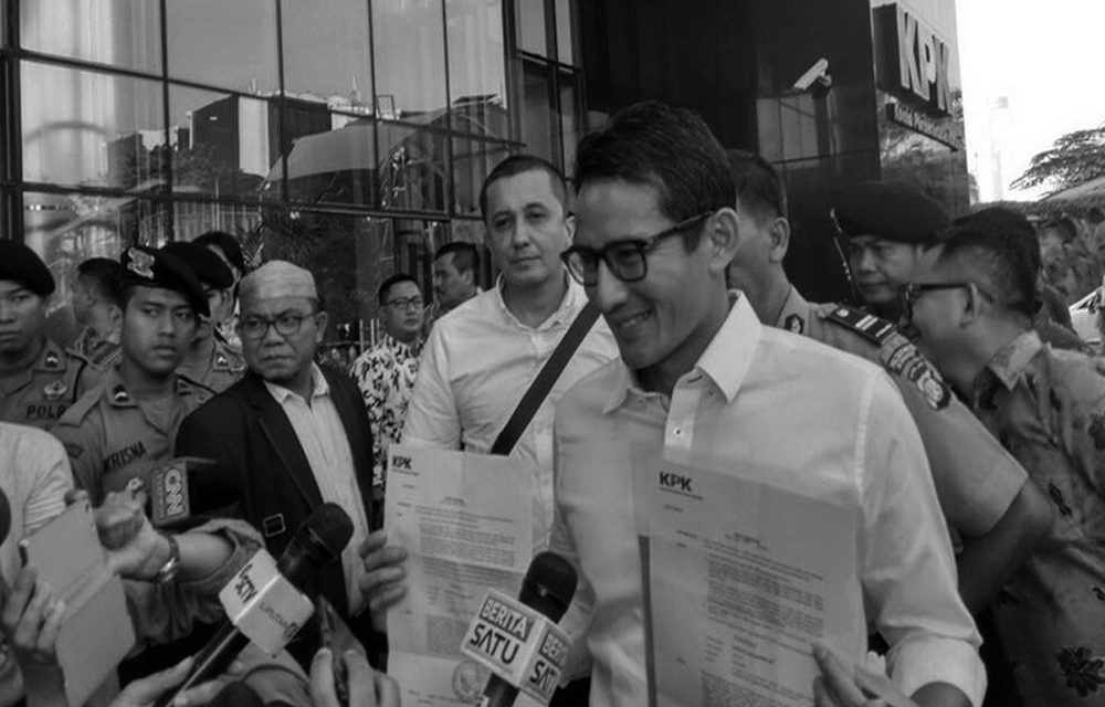 Lawsuit against Sandiaga Uno