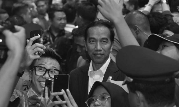 The Lady Luck for Jokowi?