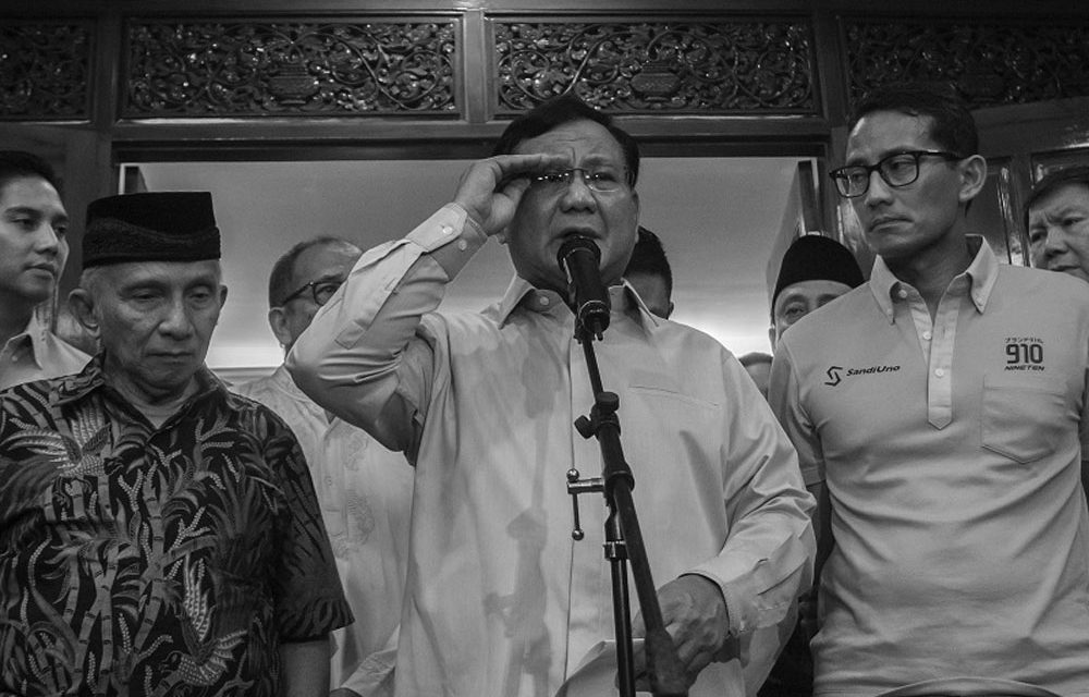Those Stand By Prabowo's Side