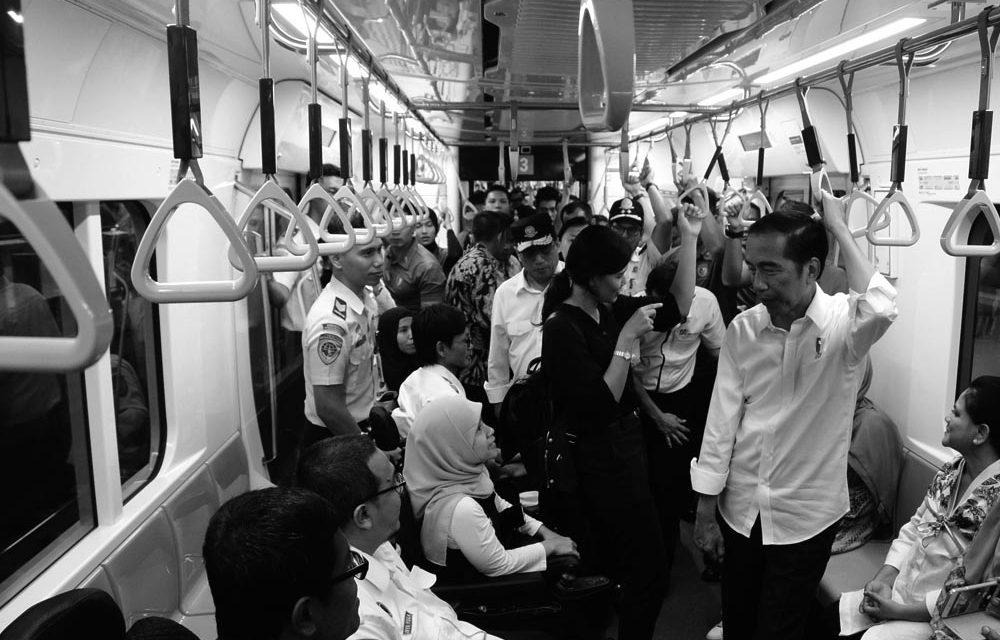 Jokowi on Traffic Jams