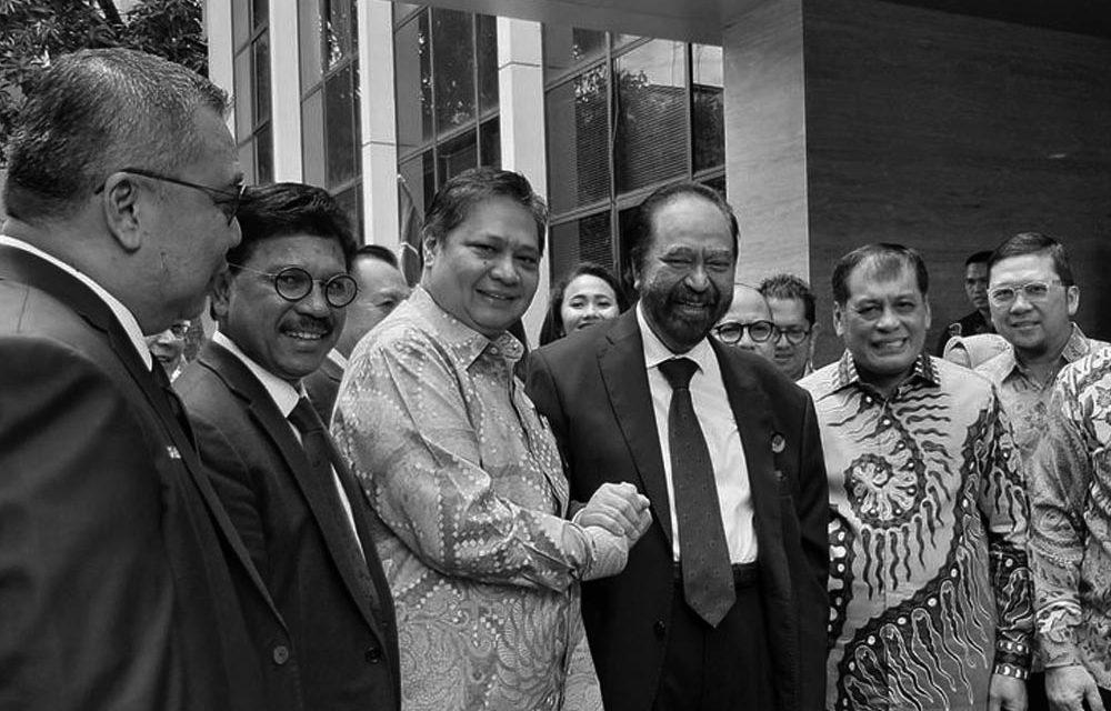 Airlangga-Paloh's Meeting