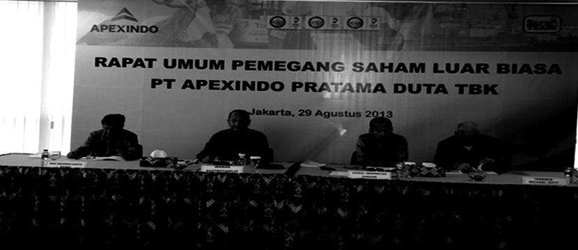 Q&A with Apexindo Pratama
