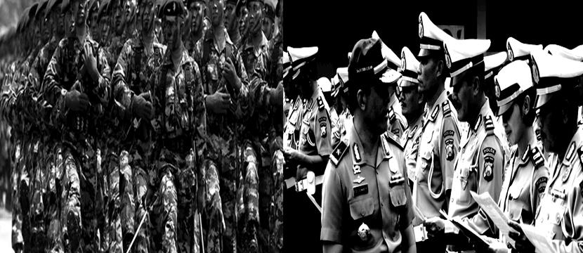 Endless Open War Between TNI and POLRI
