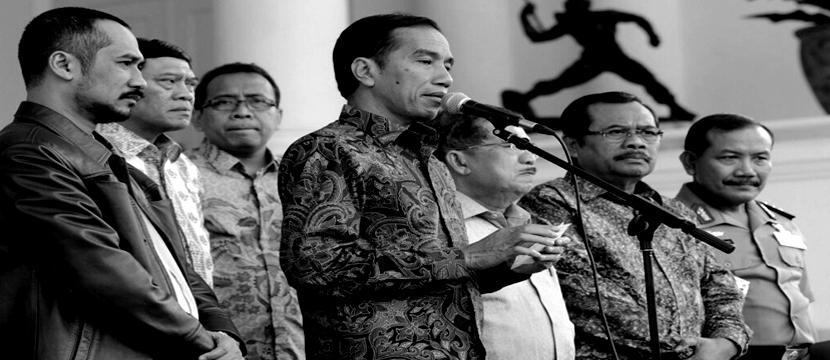 Words on the Street: Theories on the Budi Gunawan Drama