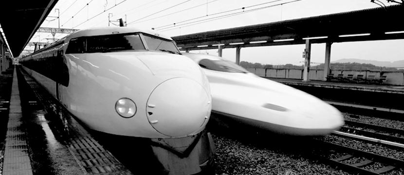 China vs Japan in Bullet Train