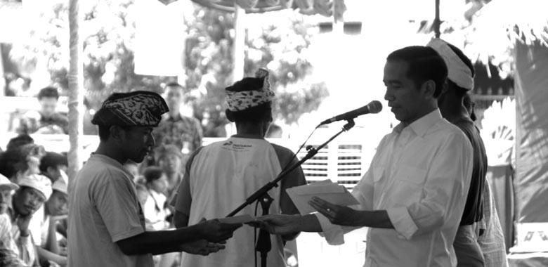 Jokowi's Agrarian Reform