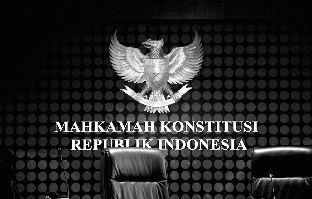 Constitutional Court Partially Granted the Judicial Review on the MD3 Law