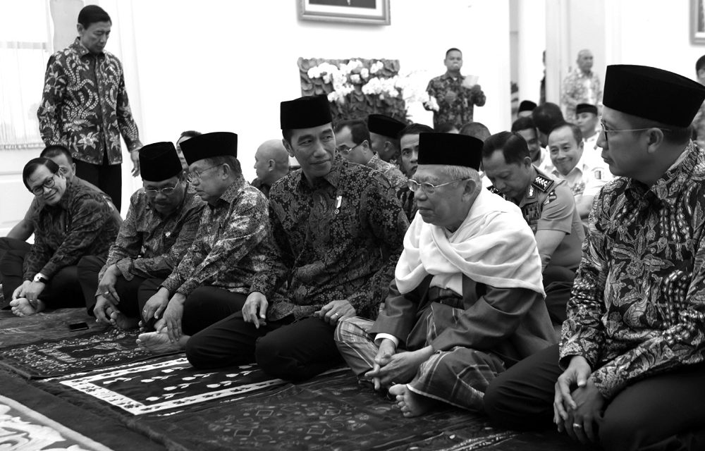 The Electability of Jokowi-Ma'ruf Amin & Prabowo-Sandi